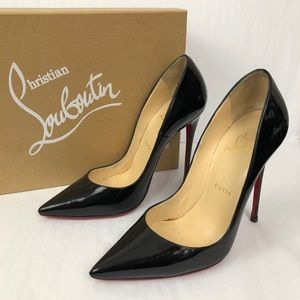 Christian Louboutin So Kate Patent 120mm Pumps